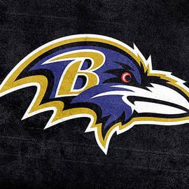 Eti Reid - Baltimore ravens logo digital painting
