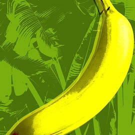Jean luc Comperat - Banana pop art