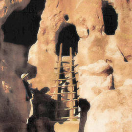 Douglas MooreZart - Bandelier Ladder and Kiva