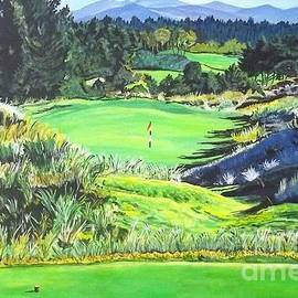 Frank Giordano  - Bandon Trails hole two