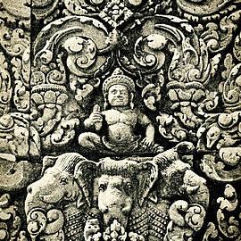 Weston Westmoreland - Banteay Srei Carvings 2 Unframed Version