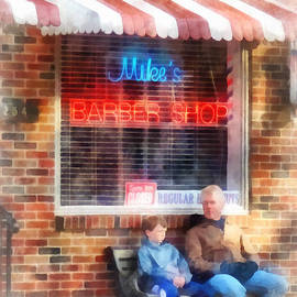 Susan Savad - Barber - Neighborhood Barber Shop