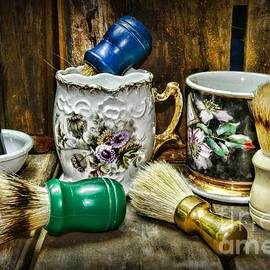 Paul Ward - Barber - Shaving Mugs and Brushes