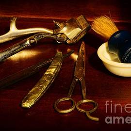 Paul Ward - Barber - things in a barber shop