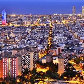 Marek Stepan - Barcelona Skyline