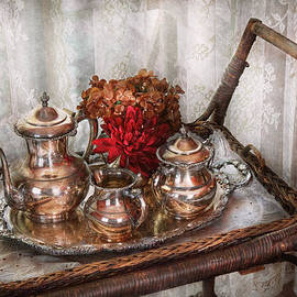Mike Savad - Barista - Tea Set - Morning tea