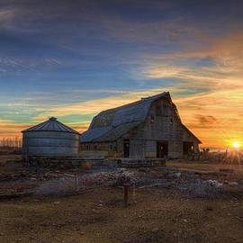 Kris Franklin - Barn and Sunset