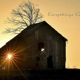 Garett Gabriel - Barn at Sunrise