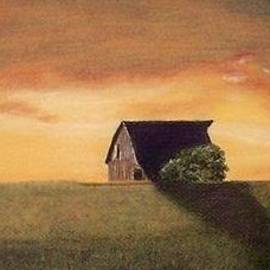 Jay Johnston - Barn at Sunset