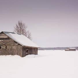 Jukka Heinovirta - Barn Houses In Winter 1