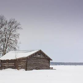 Jukka Heinovirta - Barn Houses In Winter 3