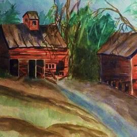Ellen Levinson - Barn - Old Dilapidated Red Barn