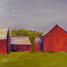 Pat Olson - Barns Near Sister Bay