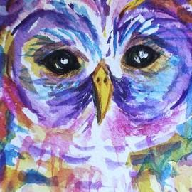 Ellen Levinson - Barred Owl - Square Format