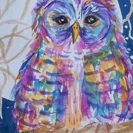 Ellen Levinson - Barred Owl Tie Dyed II