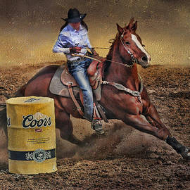 Barbara Manis - Barrel-Rider Cowgirl