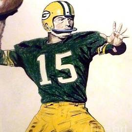 Jim Fitzpatrick - Bart Star of the Green Bay Packers