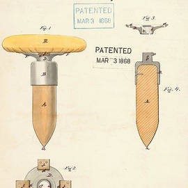 Digital Reproductions - Base for Ball Players Patent 1868