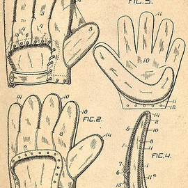Digital Reproductions - Baseball Glove Patent 1910