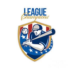 Aloysius Patrimonio - Baseball League Champions Retro