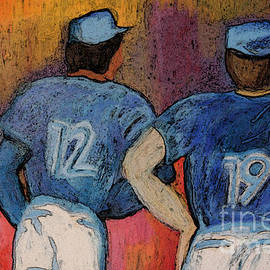 First Star Art  - Baseball Team by jrr