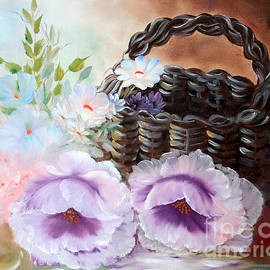 ILONA ANITA TIGGES - GOETZE  ART and Photography  - Basket with Poppys