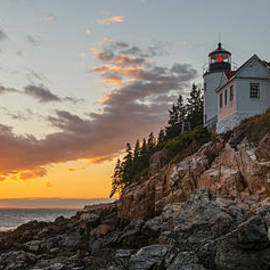 Michael Ver Sprill - Bass Harbor Head Light Sunset