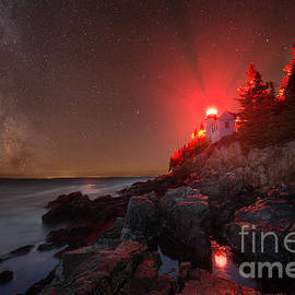 Michael Ver Sprill - Bass Harbor Lighthouse Milky Way