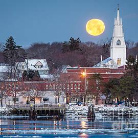 Benjamin Williamson - Bath Maine Moon