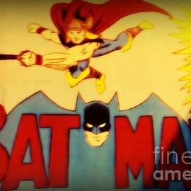 Kelly Awad - Batman and Thor