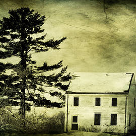 Geraldine Scull   - Battlefield Farmhouse with texture