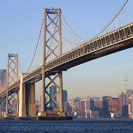 Hugh Stickney - Bay Bridge and the City