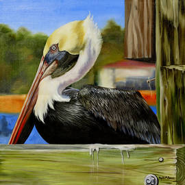 Phyllis Beiser - Bay St. Louis Pelican