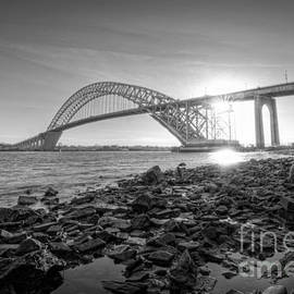 Michael Ver Sprill - Bayonne Bridge Black and white