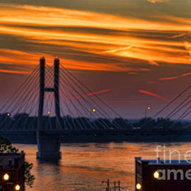 Luther Fine Art - Bayview Bridge  At Sunset- Luther Fine Art