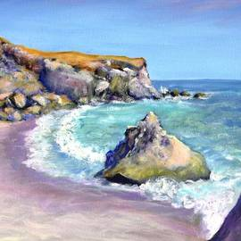 Asha Carolyn Young - Beach and Cone Rock