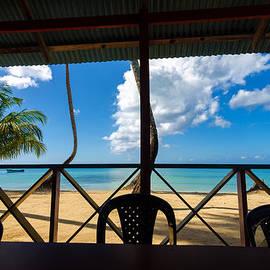 Jess Kraft - Beach and Restaurant View