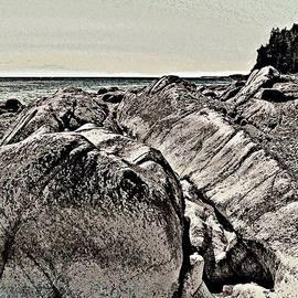 Stanley  Funk - Beach Boulder 2