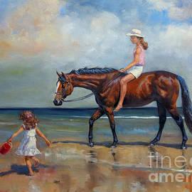 Jeanne Newton Schoborg - Beach Girls II