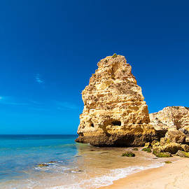 Amanda And Christopher Elwell - Beach In The Algarve Portugal