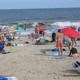 Jim Vansant - Beach Scene I Rehoboth Beach