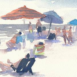 Steve Dininno - Beach Scene