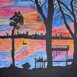 Sonali Gangane - Beach Silhouette