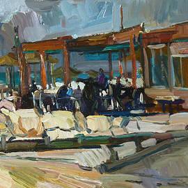 Juliya Zhukova - Beachside cafe