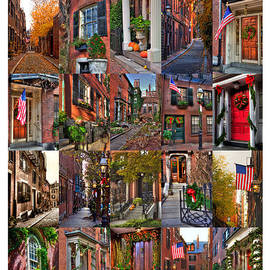 Joann Vitali - Beacon Hill - Poster