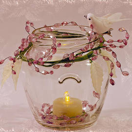 Sandra Foster - Beaded Candle Jar