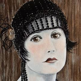 Barbara Chase - Beaded Flapper Hat
