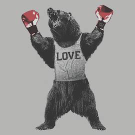 Bear Boxer - Fine Art