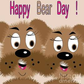 Iris Gelbart - Bear day card