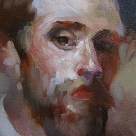 Tonja  Sell - Bearded Man 1
